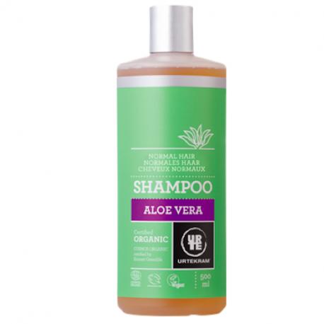 Shampoing aloe vera cheveux normaux 500 ml, Urtekram, Cheveux