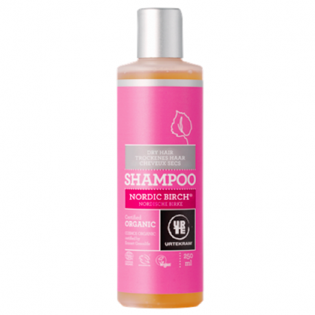 Shampoing bouleau cheveux normaux 250 ml, Urtekram, Cheveux