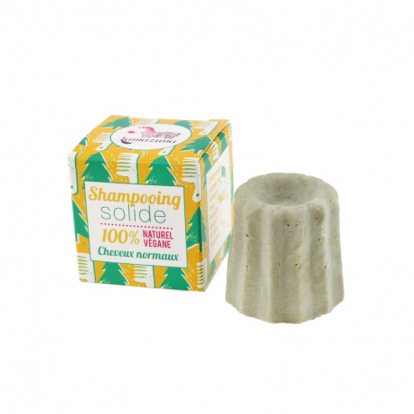 Shampoing solide cheveux normaux Pin sylvestre,Cheveux
