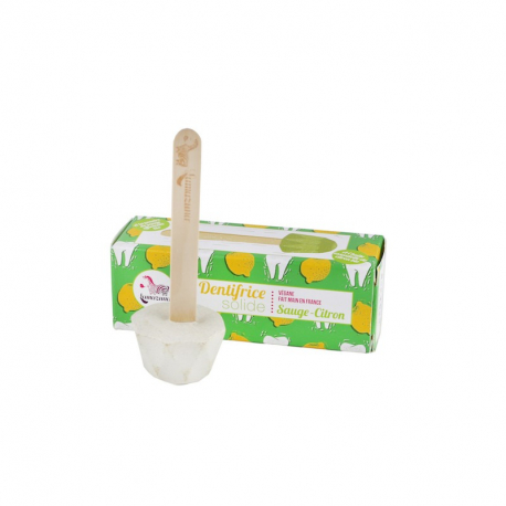 Dentifrice solide sauge-citron