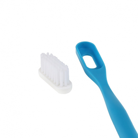 Brosse à dents rechargeable bleue - Medium,Hygiène