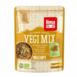 Lima Vegi mix boulghour, lentilles tomate et curry manakara 250g