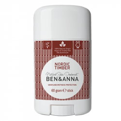 Déodorant stick Ben & Anna Bois nordiques,Hommes