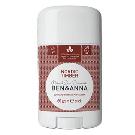 Déodorant stick Ben & Anna Bois nordiques