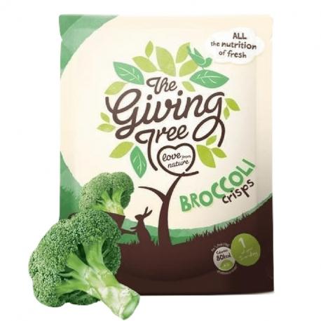 Broccoli Crisps 18g, TheGivingTrees, Snacks et crackers
