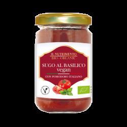 Sauce tomates basilic vegan 280g,Sauzen