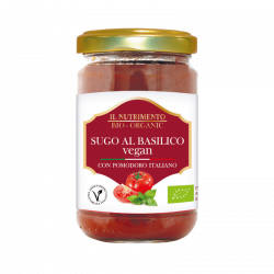 Sauce tomates basilic vegan 280g