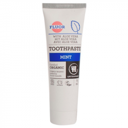 Dentifrice Menthe - Fluor 75ml, Urtekram, Soins dentaires