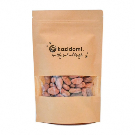 Fèves de cacao crues bio 200g, Kazidomi - Healthy Food,