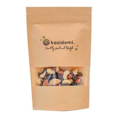 Mendiants bio 500g, Kazidomi - Healthy Food, Fruits secs et noix