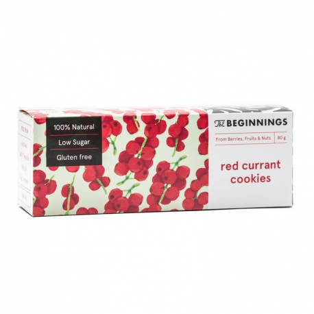 Cookies aux groseilles 80g, The Beginnings, Biscuits et