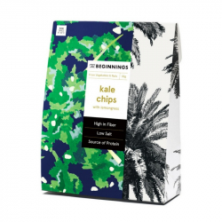 Chips de Kale et citronnelle 30g, The Beginnings, Snacks et