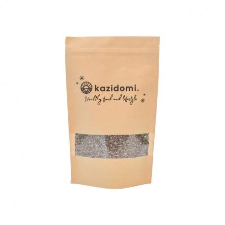 Graines de chia bio 200g, Kazidomi - Healthy Food, Baies, Fèves