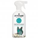 Attitude - Nettoyant naturel fenêtre et miroir zeste d'agrumes 800ml