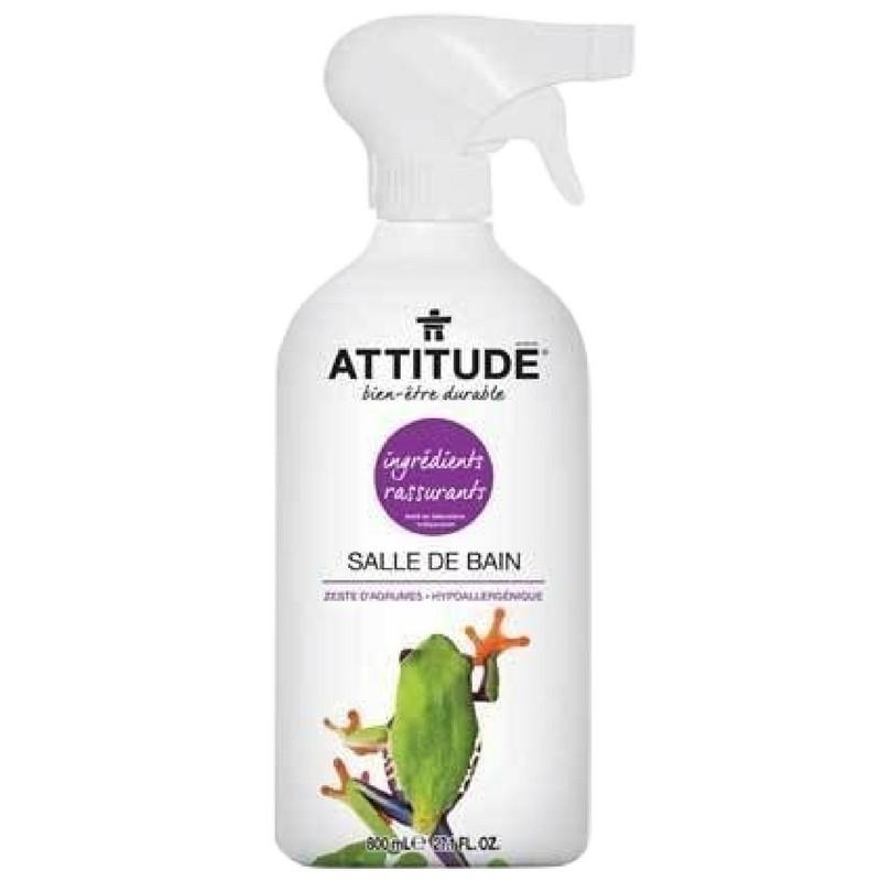 Attitude nettoyant naturel pour la salle de bain d for Nettoyant salle de bain maison