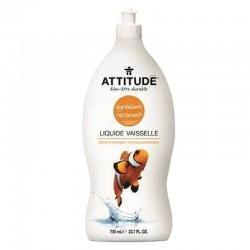 Liquide vaisselle naturel zeste d'agrumes 700ml