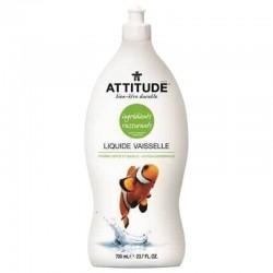 Liquide vaisselle naturel pomme verte basilic 700ml
