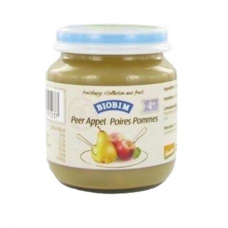 Purée de pomme et poire bio dès 4 mois 125g