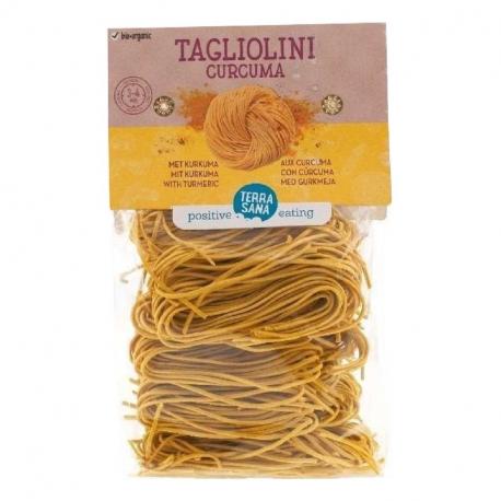 Tagliolini Curcuma 250g TerraSana