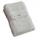 Bath sheet cotton 70x140 ecru Organic
