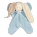 Baby Cuddly Toy Blue Organic