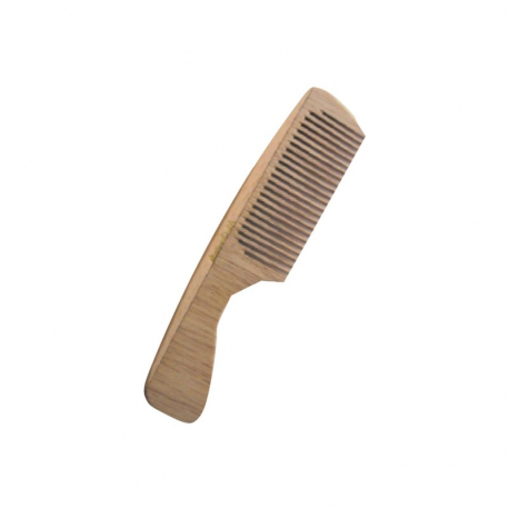 Peigne manche en bois bio dent. moyenne