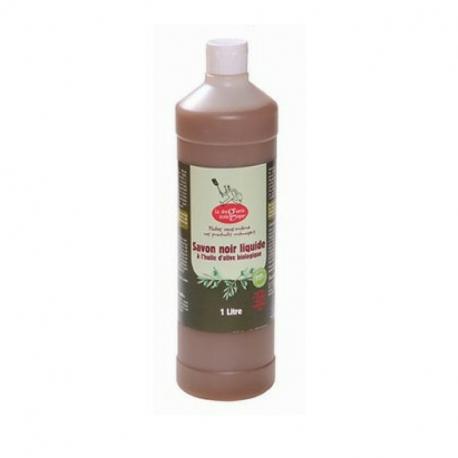 Savon noir liquide olive bio 1L