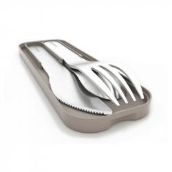 monbento - gray cutlery