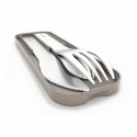 Monbento - Pocket Cutlery Set Gray