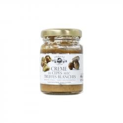 Truffe France - crème de cèpes aux truffes blanches 80gr