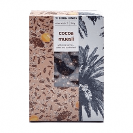 The Beginnings - Muesli au cacao 150g