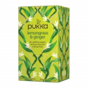 Pukka - Thé Lemongrass Gingembre (citronelle-gingembre) 20x Bio