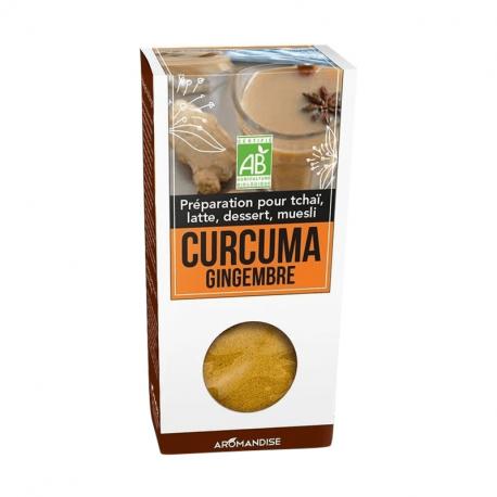 Aromandise - Organische Curcuma Latte Gember 60g