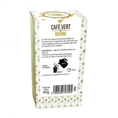Aromandise - Green Organic coffee 20 bags