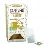 café vert nature intensité légère 20 sachets Bio