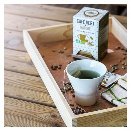 Aromandise - café vert nature 20 sachets Bio