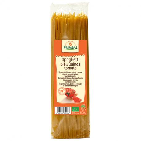 Priméal - Spaghetti Blé, Quinoa Tomates Bio 500g