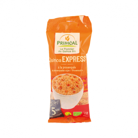 Priméal - Quinoa Express à la provençale Bio (65g : 1 pers)