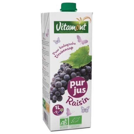 Vitamont - Jus de raisin rouge Bio 1L