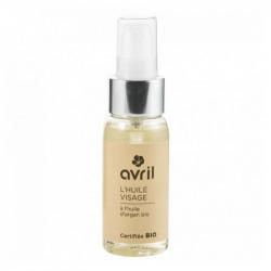 Avril - Huile visage à l'huile d'argan bio - 50ml - certifiée bio