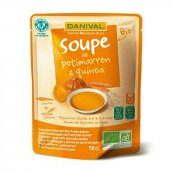 Danival - Potimarron en Quinoa soep 50cl Bio