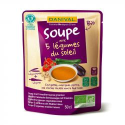 Danival - Soep 5 groenten van de zon 50cl Bio