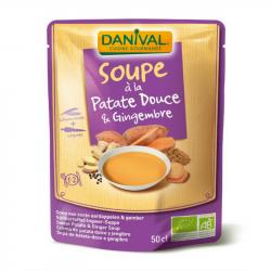 Danival - Soupe de patate douce et gingembre 50cl Bio