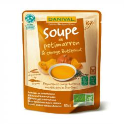 Danival - Soupe de potimarron et butternut 50cl Bio