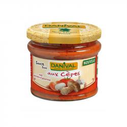 Danival - Sauce tomate aux cèpes 210g Bio