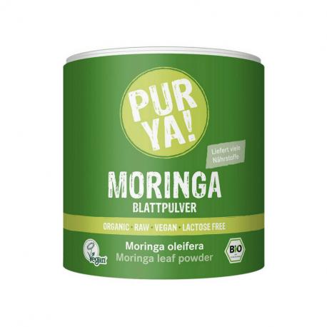 Purya - Poudre de feuille de Moringa 150gr Bio