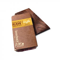 Lovechock - Pure chocoladereep, amandelen en vijgen biologisch en rauw 40gr
