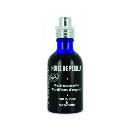 Naturado - Huile de beauté Perilla 50 ml Bio restructurant, fortifiant pour ongles