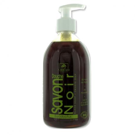 Naturado - Savon liquide Noir - Eucalyptus 500 ml BIO