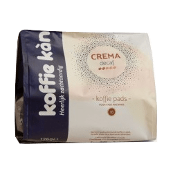 Koffie Kan - Pads crema Déca x18 Bio